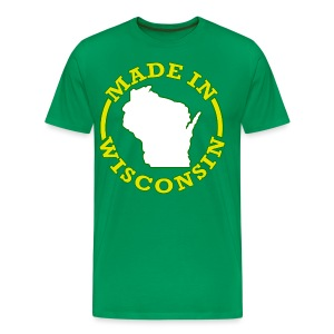Made In Wisconsin - Men's Premium T-Shirt