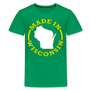 Made In Wisconsin - Kids' Premium T-Shirt