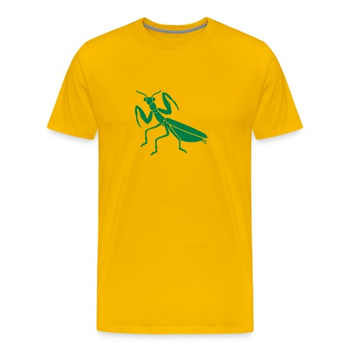 t-shirt praying mantis bug insect - Men's Premium T-Shirt