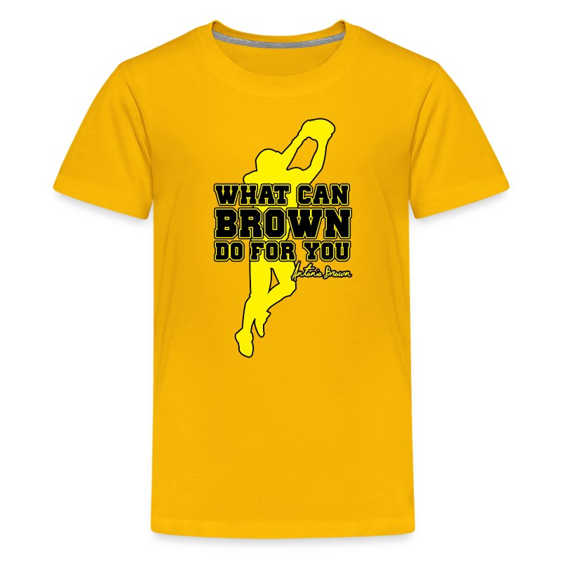 What Can Brown Do for you - Kids' Premium T-Shirt