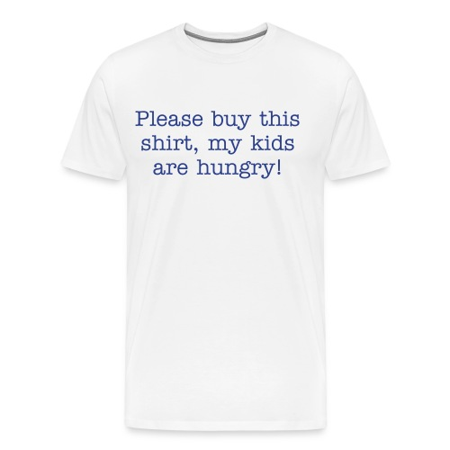 Hungry Kids! - Men's Premium T-Shirt