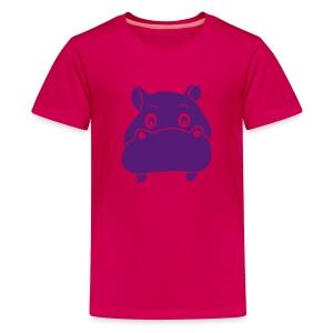 kids t-shirt hippo hippopotamus river horse afrika - Kids' Premium T-Shirt