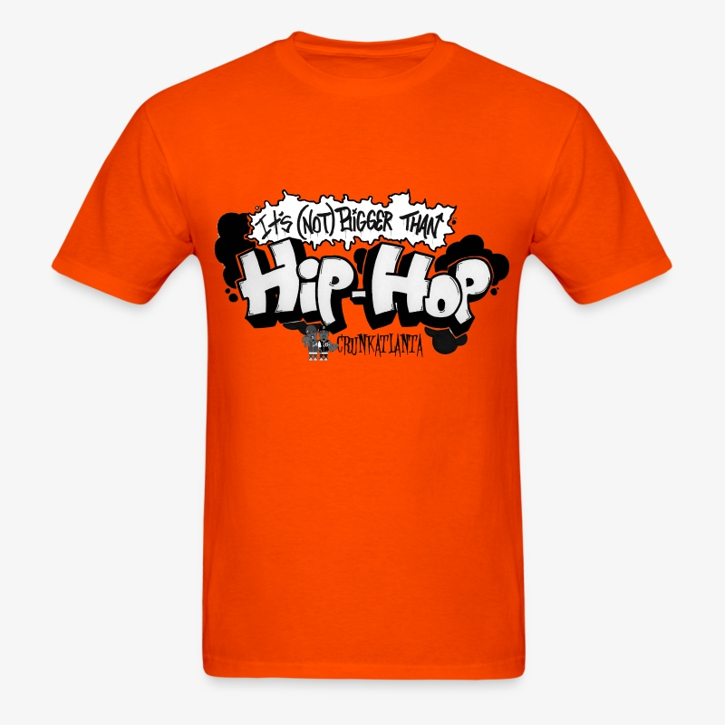Not Bigger Than HIPHOP - Men's T-Shirt