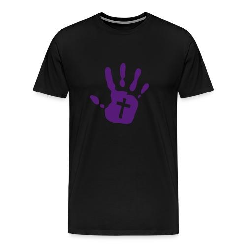 T-shirt - image on front, no text - Men's Premium T-Shirt
