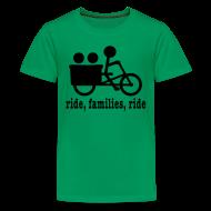 Kids' Shirts ~ Kids' Premium T-Shirt ~ Youth Madsen Ride Families