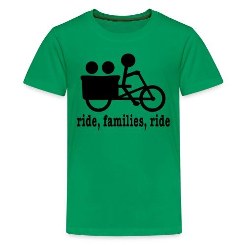 Youth Madsen Ride Families - Kids' Premium T-Shirt
