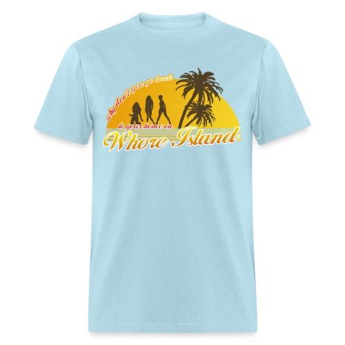 Whore Island - Men's T-Shirt
