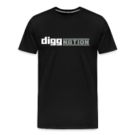 T-Shirts ~ Men's Premium T-Shirt ~ Diggnation Logo T-Shirt 3XL
