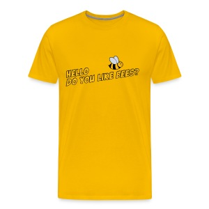 Mens Tee: Do You Like Bees? - Men's Premium T-Shirt