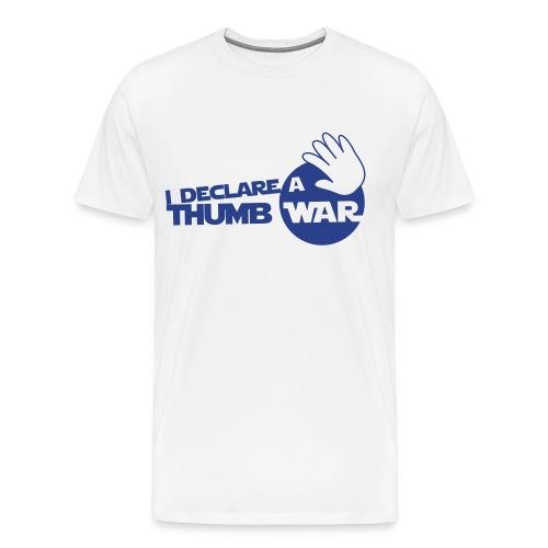 I Declare A Thumb War - Men's Premium T-Shirt
