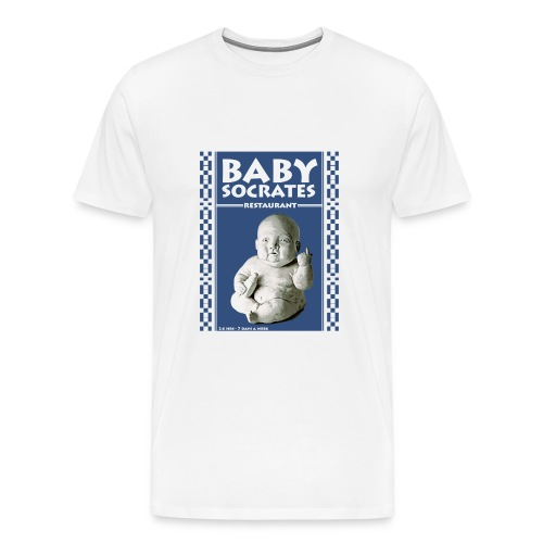 Mens BabySoc Heavy T - Men's Premium T-Shirt
