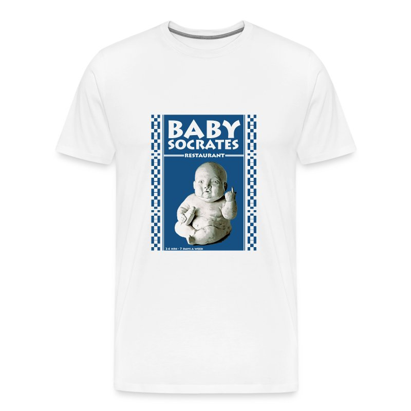 Mens BabySoc Heavy T - Men's Premium T-Shirt