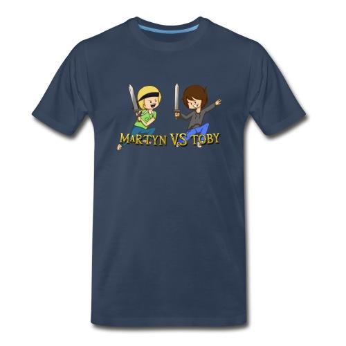 Mens Martyn vs Toby T-Shirt - Men's Premium T-Shirt