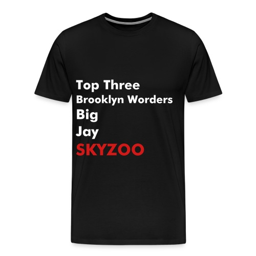 Top Three BK Worders - Men's Premium T-Shirt