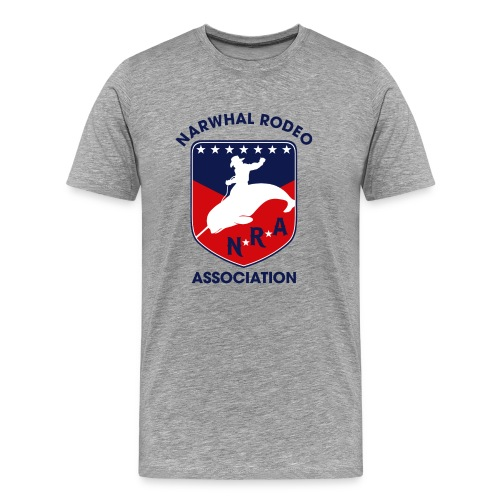 Narwhal Rodeo Association - Men's Premium T-Shirt