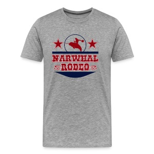 Narwhal Rodeo - Men's Premium T-Shirt