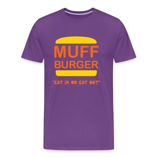 Muff Burger T-Shirt - Men's Premium T-Shirt