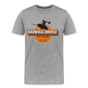 Narwhal Rodeo Awesome - Men's Premium T-Shirt