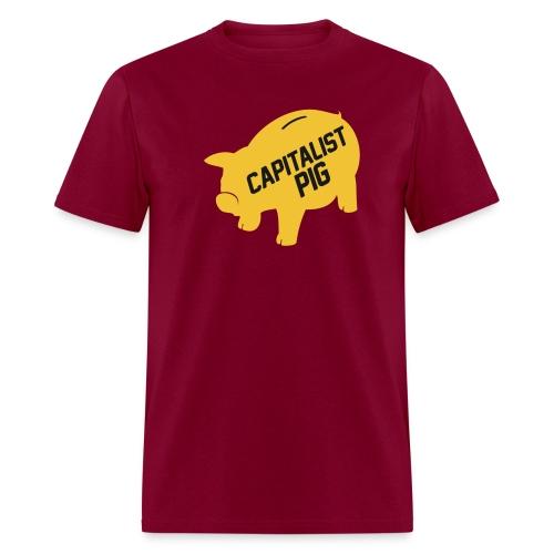 Capitalist Piggy Bank - Men's T-Shirt