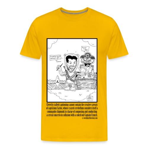 Charlie Sheen - Men's Premium T-Shirt