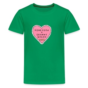 Kids Tee: Minecraft Love - Kids' Premium T-Shirt