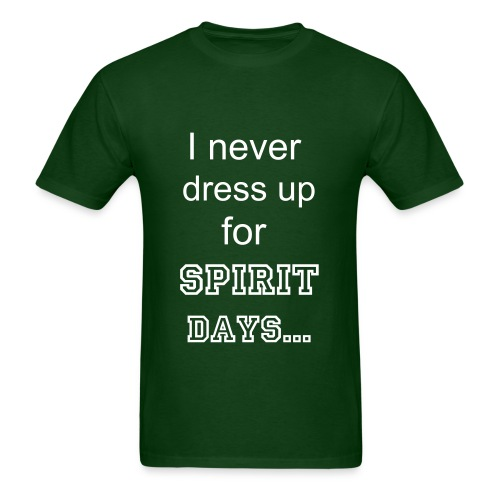 Spirit Days - Men's T-Shirt