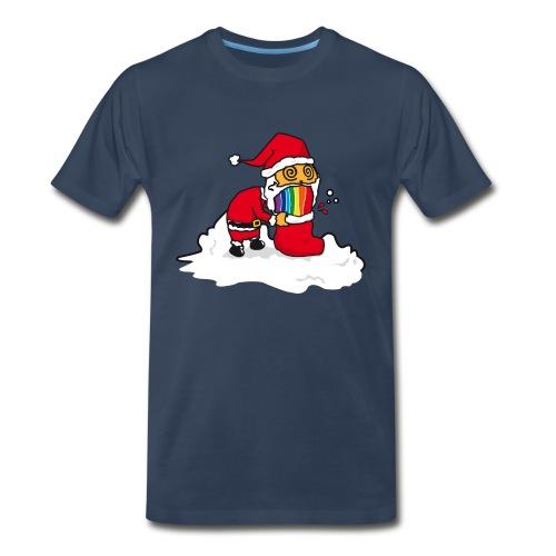 Christmas Cat - Men's Premium T-Shirt