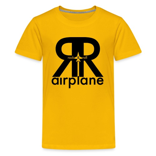 Rock and Roll Airplane - Kids  - Kids' Premium T-Shirt