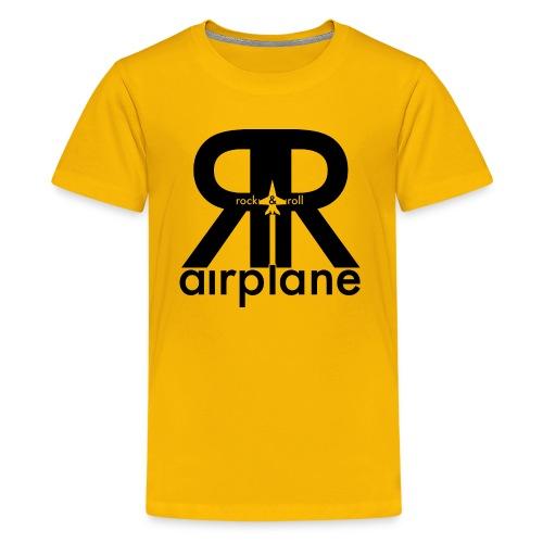 Rock and Roll Airplane - Kids  - Kids' Premium T-Shirt