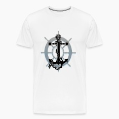Anchor and Ship wheel