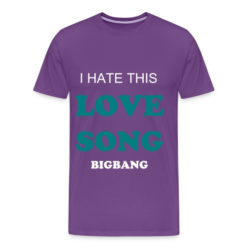 BIGBANG LOVE SONG Men's T-Shirt - Men's Premium T-Shirt