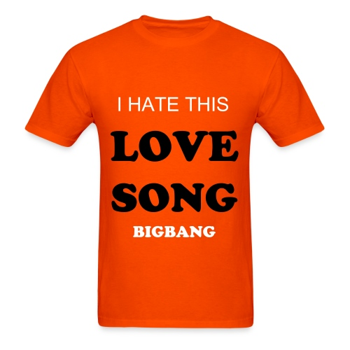 BIGBANG LOVE SONG Men's T-Shirt - Men's T-Shirt