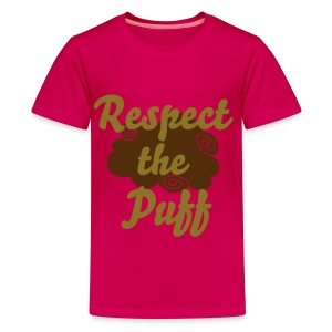 Respect the Puff - Kids' Premium T-Shirt