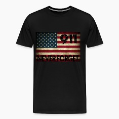 Grunge US Flag 911 T-Shirts