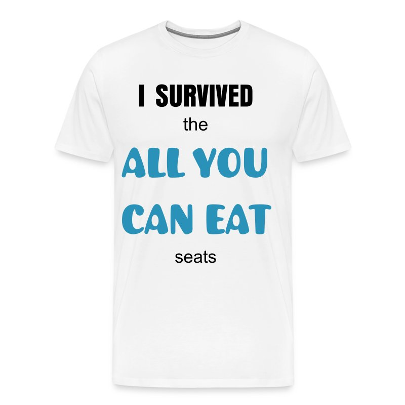 All You Can Eat Seats - Men's Premium T-Shirt