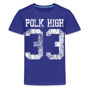 Polk High 33 - Kids' Premium T-Shirt