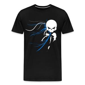 Cyber Skull Graffiti 3X - Men's Premium T-Shirt
