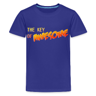 Kids' Shirts ~ Kids' Premium T-Shirt ~ The Key of Awesome Kids Logo
