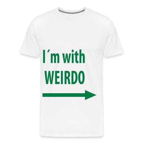 im with weirdo - Men's Premium T-Shirt