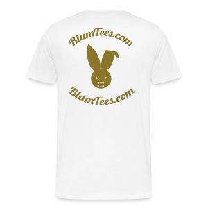 Drunken Donuts - Dunkin Donuts Parody Mens T-Shirt - Men's Premium T-Shirt