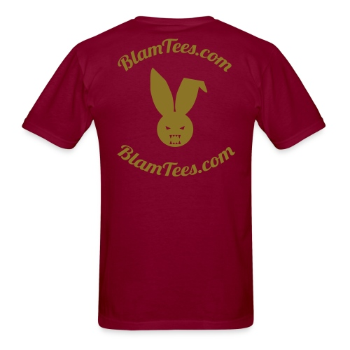 Drunken Donuts - Dunkin Donuts Parody Mens T-Shirt - Men's T-Shirt