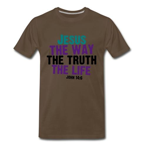 John 14:6 - Men's Premium T-Shirt