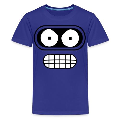 Kids Angry Robot from the Future Shirt - Kids' Premium T-Shirt