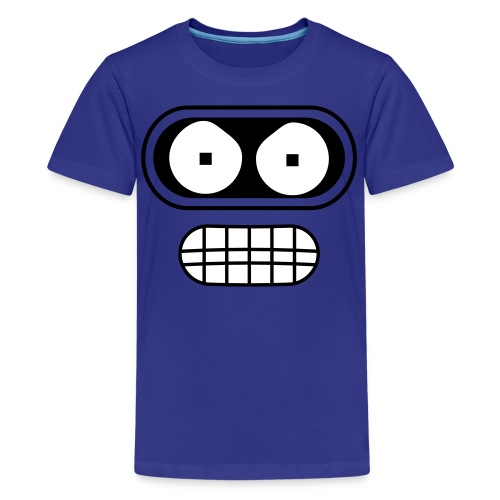 Kids Angry Robot from the Future Shirt - Kids' Premium T-Shirt