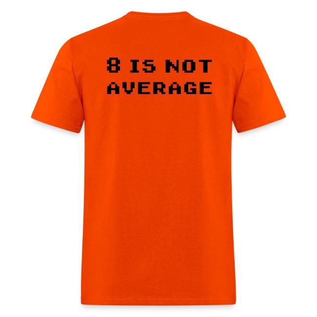 8 Is Not Average for Men