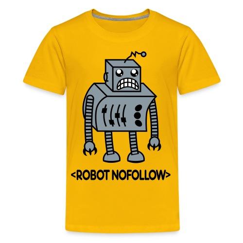 3 Color Kids Robot Shirt - Robot NoFollow - Kids' Premium T-Shirt
