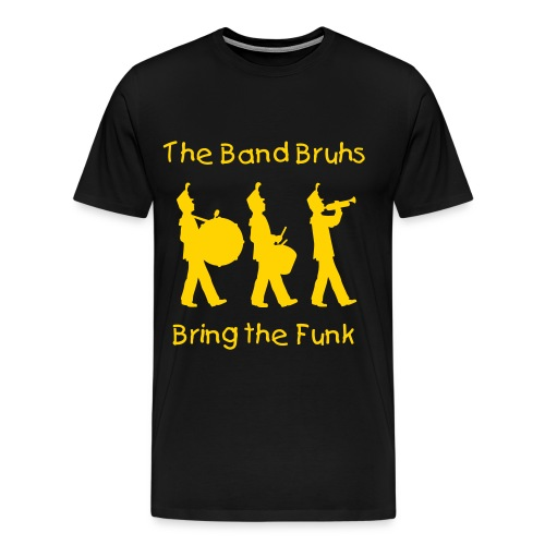 Alpha Band Bruhs shirt - Men's Premium T-Shirt