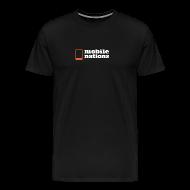T-Shirts ~ Men's Premium T-Shirt ~ Mobile Nations logo Vertical