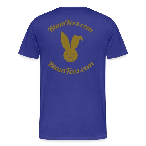 The Second Coming - Jesus Manson Chainsaw Maniac - Men's T-Shirt - Men's Premium T-Shirt