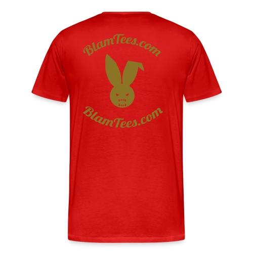 The Second Coming - Jesus Manson Chainsaw Maniac - Men's T-Shirt - Men's Premium T-Shirt